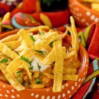 Chicken Tortilla Soup ~ Secret Recipe Club