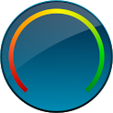 Digital Circle Battery Widget icon