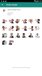 Stiker WA Capres Jokowi Prabowo for PC-Windows 7,8,10 and Mac apk screenshot 2