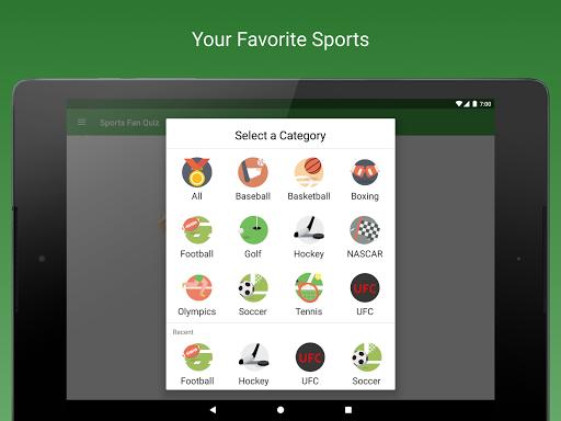 Sports Fan Quiz - NFL, NBA, MLB, NHL, FIFA, + apkpoly screenshots 9