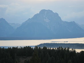 Photo: Jackson Lake from Signal Mountain