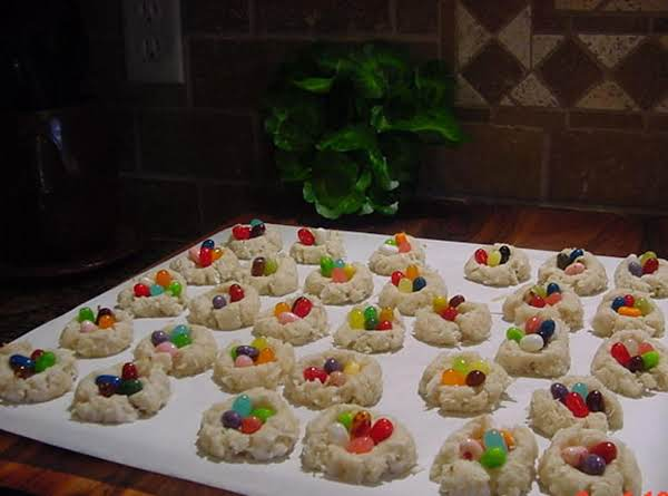 Bonnie's Easter Nest Cookies