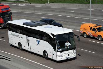 Photo: A#: JU 95407 på E18 i Bispevika, 13.05.2008. Askeladden Reiser, Hønefoss.