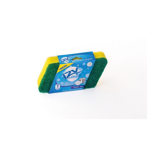 esponja yzyclean doble uso