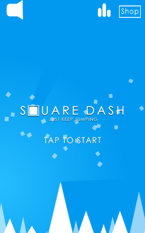 Square Dash!- screenshot