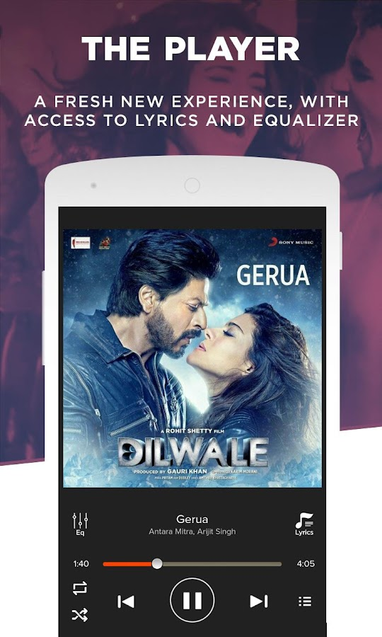 Gaana: Bollywood & Hindi Songs- screenshot