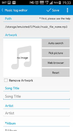 Star Music Tag Editor  screenshots 3