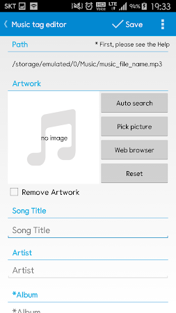 Star Music Tag Editor 1.8.5 screenshot 211448