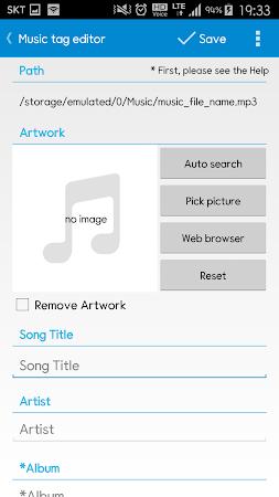 Star Music Tag Editor 1.8.5 screenshot 211448