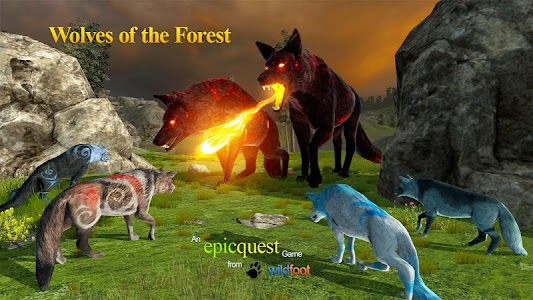 Wolves of the Forest screenshot 1