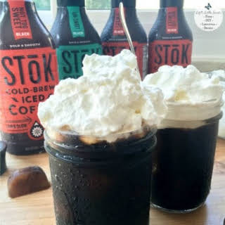 Whipped Cream Cold-Brew Iced Coffee.