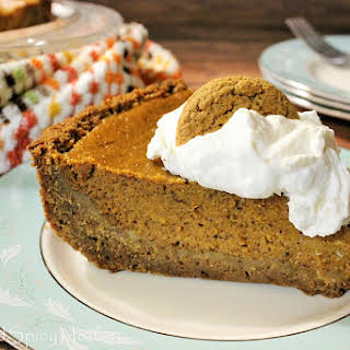 Chai Tea Pumpkin Pie.
