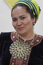 Photo: Mus priėmusios šeimininkės sesuo.  Our host's sister.