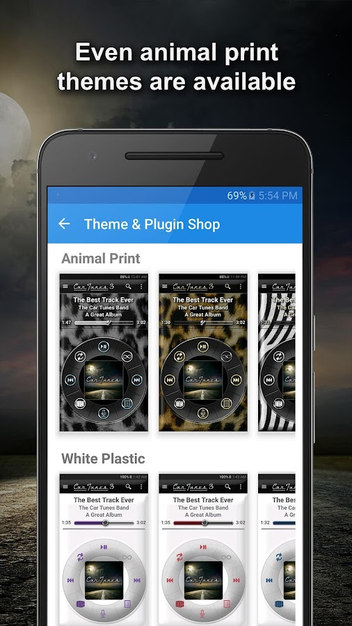Car Tunes Music Player- screenshot