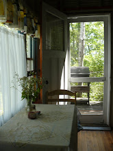 Photo: table and back porch