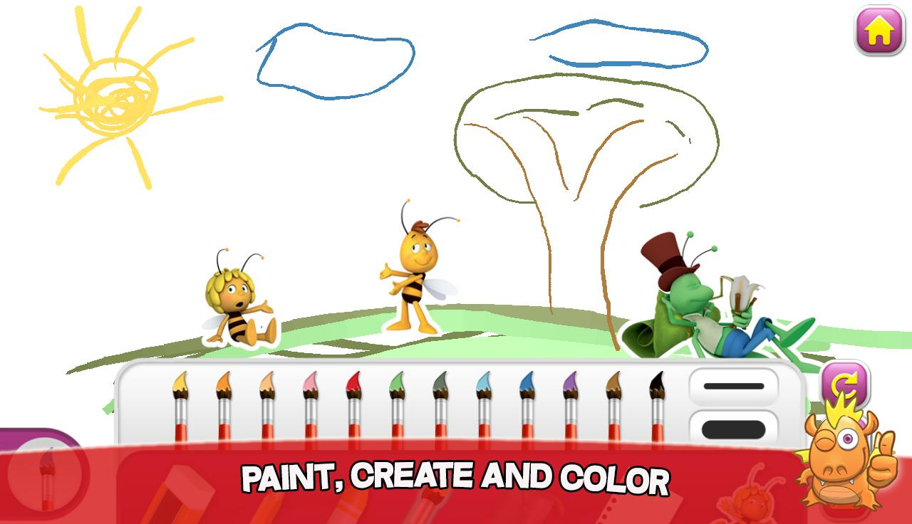 Maya the Bee: Play and Learn- screenshot