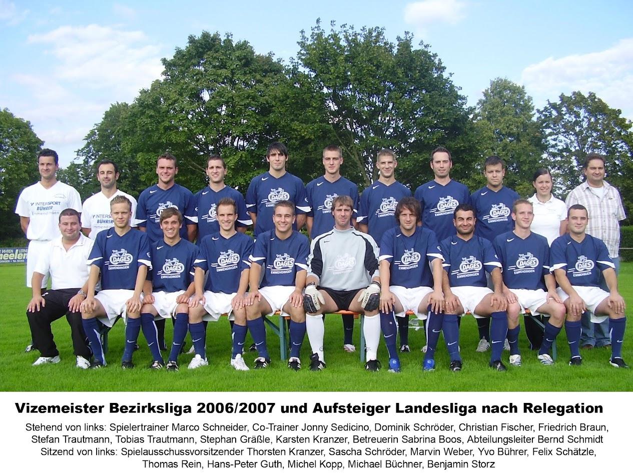 I Mannschaft 2006/07