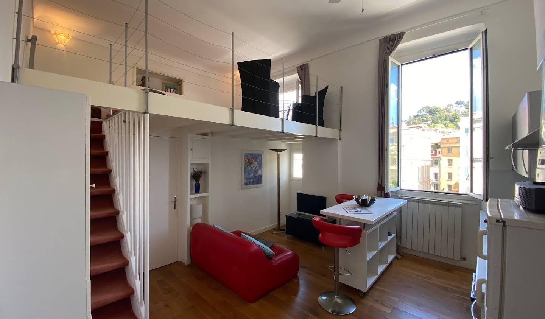 Appartement contemporain en bord de mer Nice