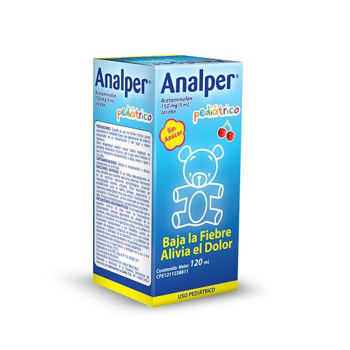 Acetaminofen Analper 150 Mg/5 Ml Jarabe Pediátrico X 120 Ml La Sante Jarabe X 120 mL