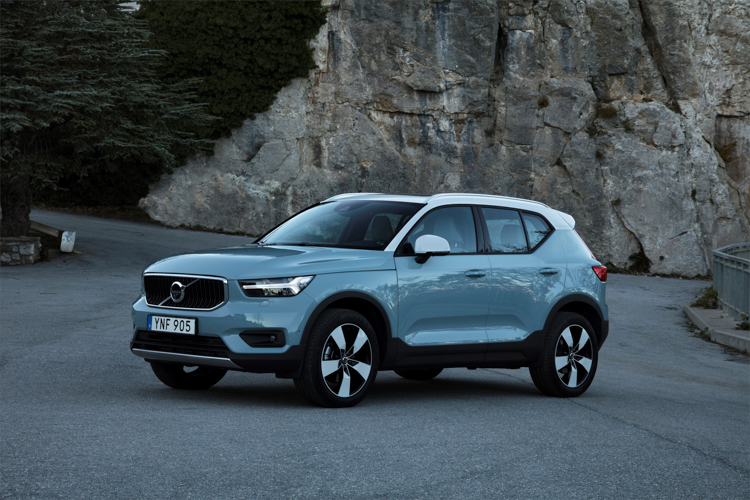 The XC40 is one of two Volvos in the 2019 World Car Awards shortlist. Picture: SUPPLIED