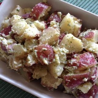 Hollandaise Potatoes.