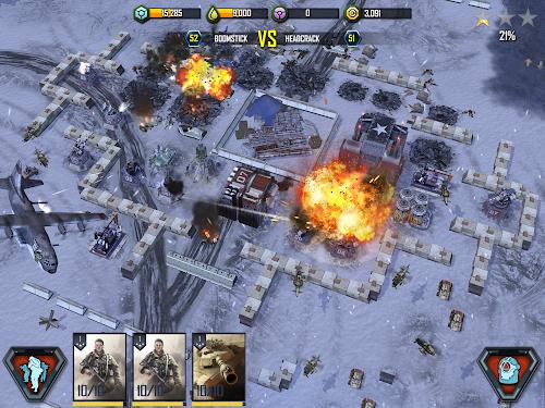 Screenshot 3 War Commander: Rogue Assault 2.35.1 APK hack