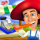 Farm Cashier Store Manager - Kids Game