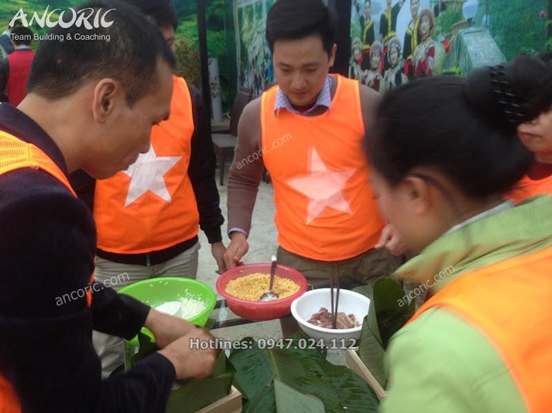 team building banh chung viet - sapa