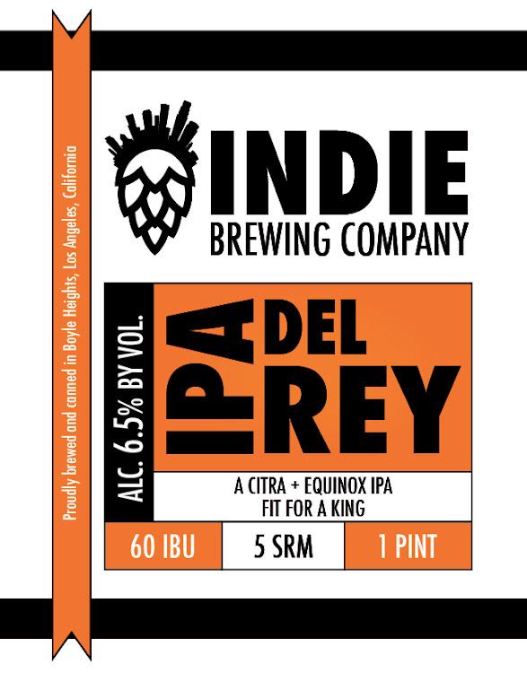 Logo of Indie IPA Del Rey