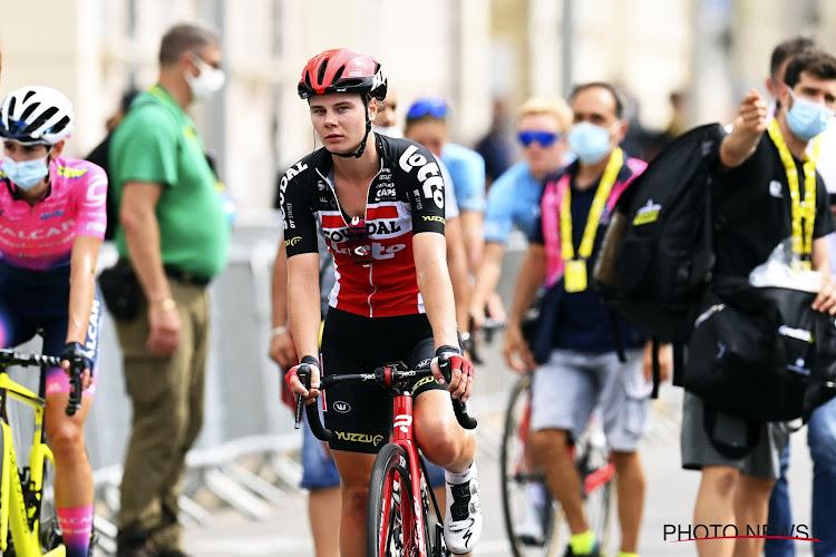 Lotte Kopecky opnieuw erg dicht bij overwinning in Giro Rosa, Marianne Vos maakt hattrick compleet