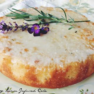 Rosemary & Lemon Infused Cake Recipe