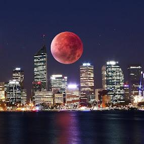Perth Western Australia  by Simon  Rees - City,  Street & Park  Skylines