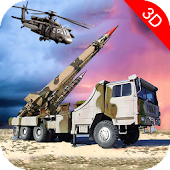 Nuclear Bomb Transporter:Missile Attack Army Truck