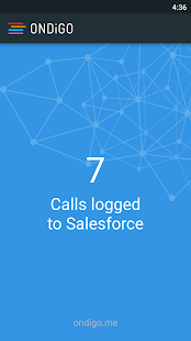 ONDiGO Salesforce Call Logger- screenshot thumbnail