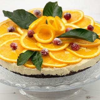 Orange Oreo Cheesecake [vegan]