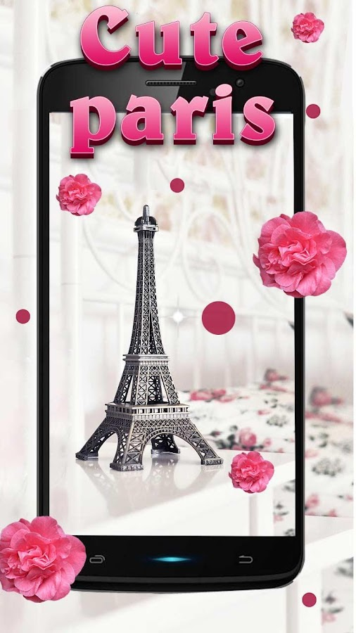 cute paris hd live wallpaper android apps on google play. Black Bedroom Furniture Sets. Home Design Ideas