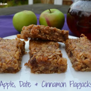 Apple, Date & Cinnamon Flapjacks