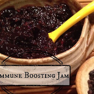 Sugar-free Dried Elderberry Jam