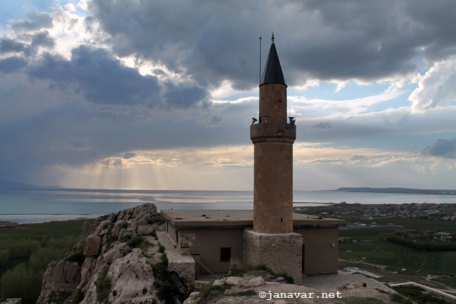 Travel: Van in Eastern Turkey: The citadel of Van, Lake Van