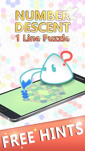 Number Descent: 1 Line Puzzle 2.9 screenshots 3