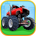 Monster Trucks Kids Puzzles icon