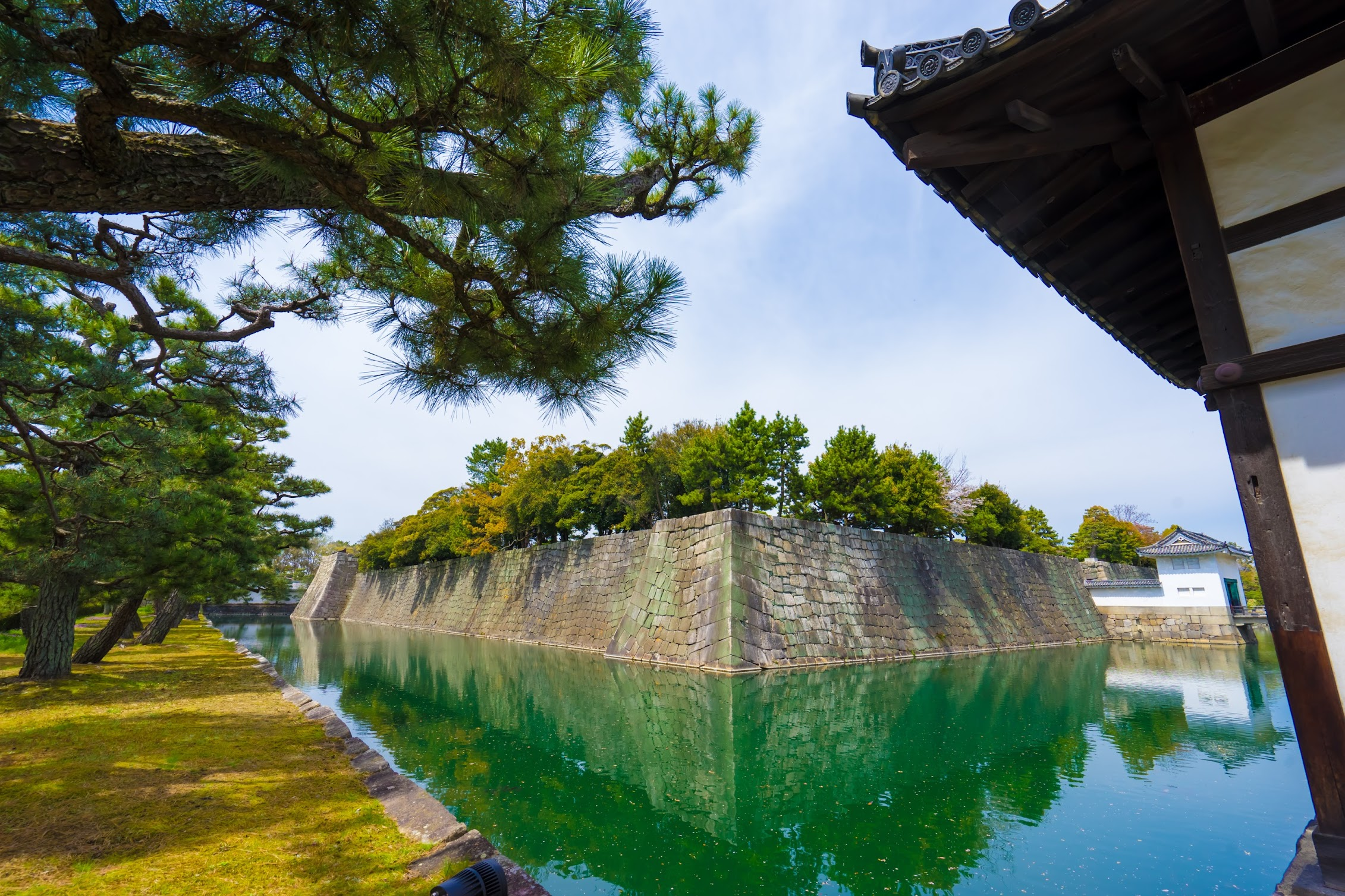 二条城 堀1