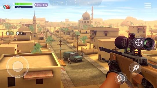 FightNight Battle Royale: FPS Shooter MOD APK + Data File (Unlimited Money) 2