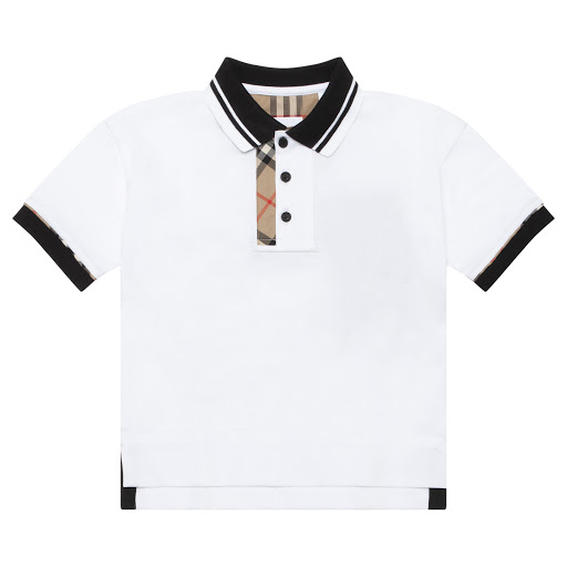 Primary image of Burberry Contrast Polo Top