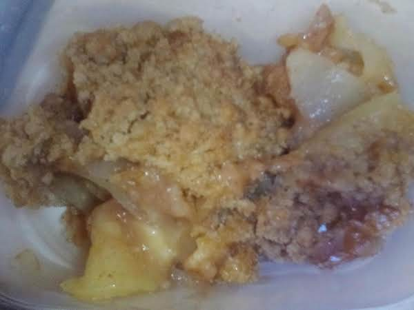 Apple Granola Crisp Recipe