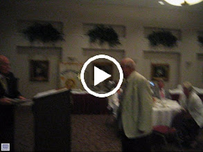 Video: Rotarian of the Year, Robert Benedict, our oldest and wisest member