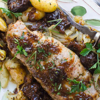 Pork Tenderloin with Port and Dried Plums Recipe