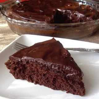 Fudgy Dark Chocolate Cake.