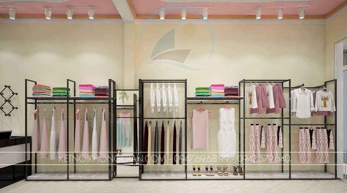 thiết kế shop thời trang công sở đẳng cấp