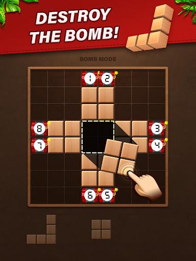 Fill Wooden Block 8x8: Wood Block Puzzle Classic  screenshots 8